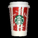 Starbucks Coffee 2016年ホリデーシーズン限定レッドカップ Birch Forest「樺の林」(United States)