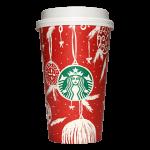 Starbucks Coffee 2016年ホリデーシーズン限定レッドカップ Ornaments「オーナメント」(United Arab Emirates)
