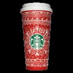 Starbucks Coffee 2016年ホリデーシーズン限定レッドカップ Snowflake Sweater「雪の結晶」(Russia)