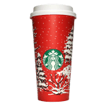 Starbucks Coffee 2016年ホリデーシーズン限定レッドカップ Evergreen Forest「常緑樹林」(United States)