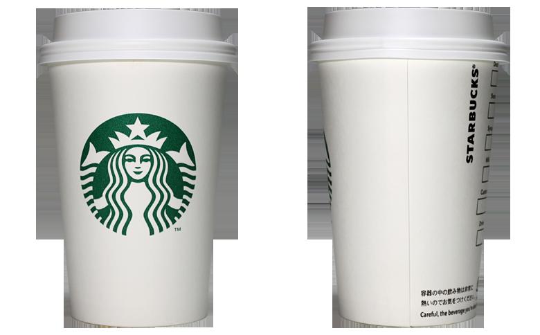 STARBUCKS COFFEE 2019年 秋限定スリーブのテイクアウト用コーヒーカップ