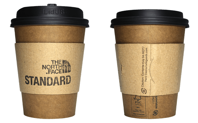 THE NORTH FACE STANDARD(ザ ノース フェイス スタンダード)のテイクアウト用コーヒーカップ